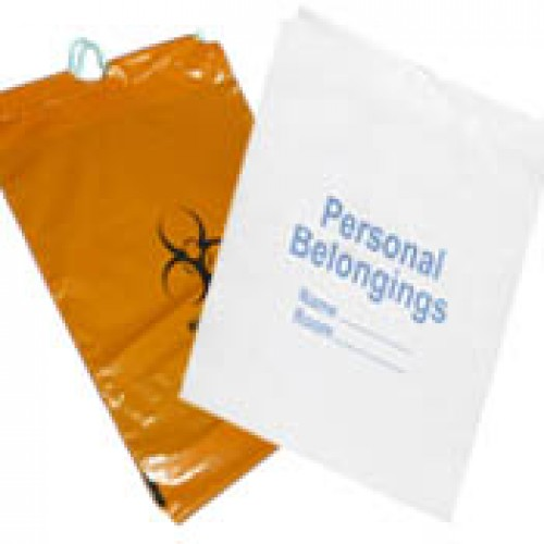Patient Belonging Bag with drawstring 500 ea 19.75 x 19.75 x 4 in