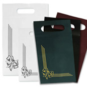 Patch Handle Shopping Bags - Unprinted