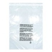 Self Seal Suffocation Warning Bags